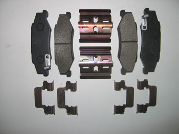 ACD BRAKE PAD KIT, C5/C6(Z51), REAR, SEMI-METALLIC