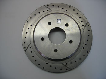 ROTOR, C5/C6, D&S, ø305 x 26, REAR RIGHT