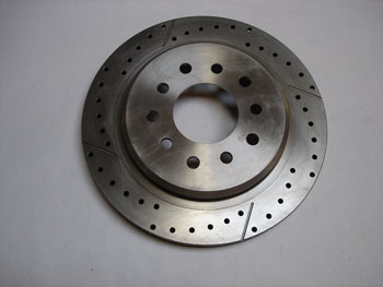 ROTOR, C5/C6, D&S, 5x5, ø305 x 26, REAR RIGHT